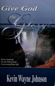 Cover of: Give God the glory!