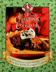 Cover of: Gooseberry Patch very Merry Christmas cookbook | Kelly Hooper Troiano