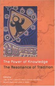 Cover of: The Power Of Knowledge, The Resonance Of Tradition