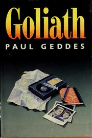 Cover of: Goliath | Paul Geddes