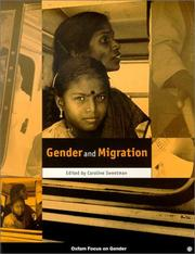 Cover of: Gender and migration