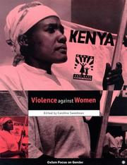 Cover of: Violence Against Women (Oxfam Focus on Gender Series)
