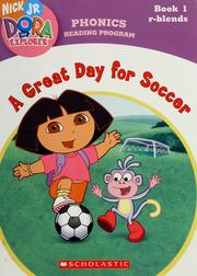 Cover of: A great day for soccer by Quinlan B. Lee