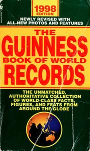 Cover of: The Guinness book of world records, 1998 |