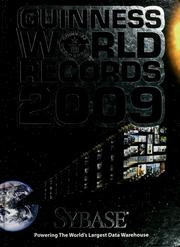 Cover of: Guinness World Records 2009.