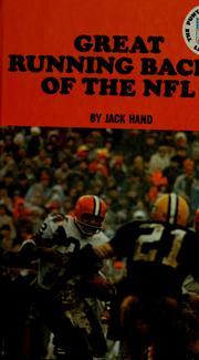 Cover of: Great running backs of the NFL | Jack J. Hand