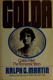 Cover of: Golda | Martin, Ralph G.