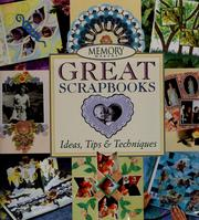 Cover of: Great scrapbooks | Michele Gerbrandt