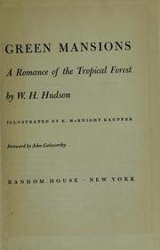 Cover of: Green mansions | W. H. Hudson