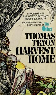 Cover of: Harvest home. | Thomas Tryon