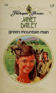 Cover of: Green mountain man | Janet Dailey