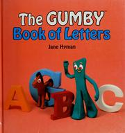 Cover of: The Gumby book of letters | Jane Hyman