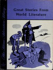Cover of: Great stories from world literature | Doris Heitkotter