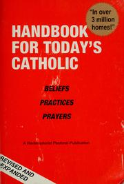 Cover of: Handbook for today