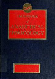 Handbook of analytical toxicology. by