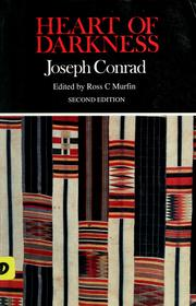 Cover of: Heart of darkness by Joseph Conrad