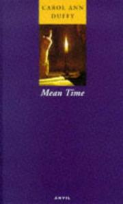 Cover of: Mean Time | Carol Ann Duffy