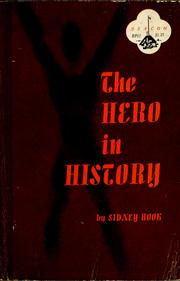 Cover of: The hero in history | Sidney Hook