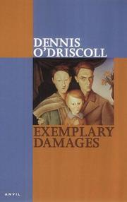 Cover of: Exemplary damages
