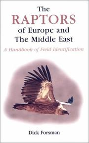 Cover of: The Raptors of Europe and the Middle East | Dick Forsman