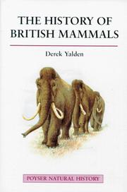 Cover of: The history of British mammals