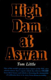 Cover of: High dam at Aswan | Tom Little