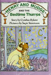 Cover of: Henry and Mudge and the bedtime thumps | Jean Little