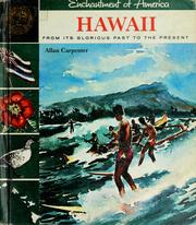 Cover of: Hawaii by Allan Carpenter