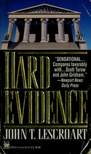 Cover of: Hard evidence | John T. Lescroart