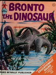 Cover of: Bronto the dinosaur | Dorothy Thompson Landis