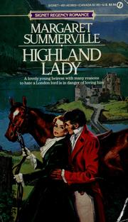 Cover of: Highland Lady | Margaret Summerville