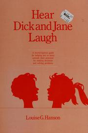 Cover of: Hear Dick and Jane laugh | Louise G. Hanson