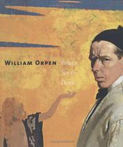Cover of: William Orpen | Orpen, William Sir