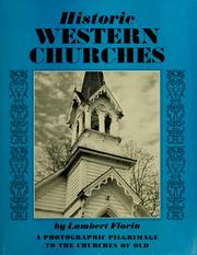 Cover of: Historic Western churches | Lambert Florin