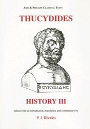 Cover of: Thucydides