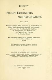 Cover of: History of Brulé