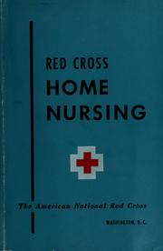Cover of: Home nursing textbook | American National Red Cross.