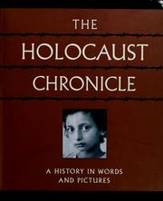 Cover of: The holocaust chronicle