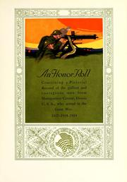 Cover of: An honor roll by