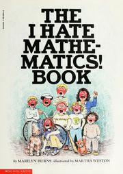 Cover of: The Brown Paper School presents The I hate mathematics! book | Marilyn Burns