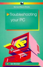 Cover of: Troubleshooting Your PC