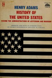 History of the United States during the administrations of Jefferson and Madison.
