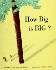 Cover of: How big is big? | Schneider, Herman