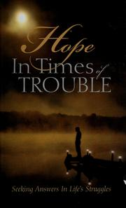 Cover of: Hope in times of trouble |