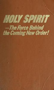 Cover of: Holy Spirit | Watch Tower Bible and Tract Society of Pennsylvania