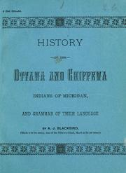 Cover of: History of the Ottawa and Chippewa Indians of Michigan | Blackbird, Andrew J.