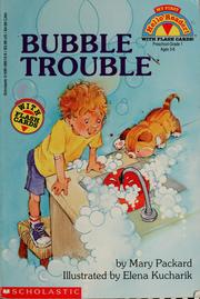 Cover of: Bubble trouble | Mary Packard