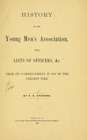 Cover of: History of the Young men