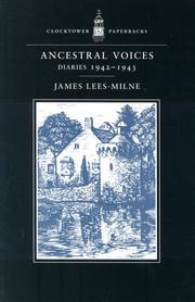 Cover of: Ancestral voices