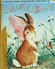 Cover of: Home for a bunny | Jean Little
